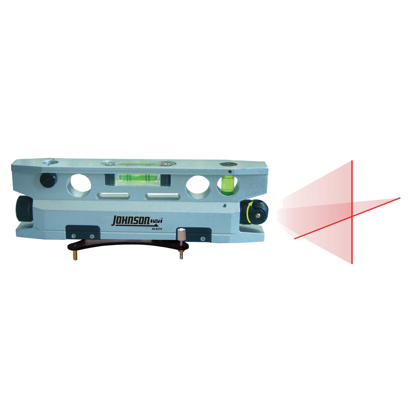 Nivel l ser torpedo magn tico de 3 puntos johnson level - Nivel con laser ...