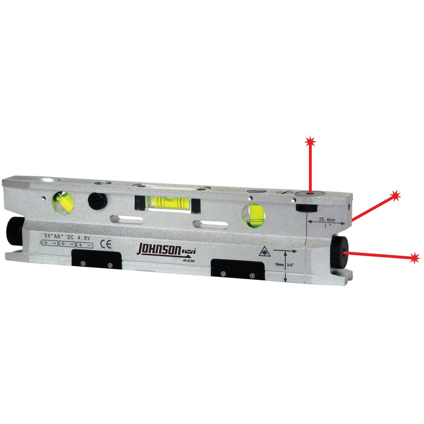3-Beam Magnetic Torpedo Laser Dot | 40-6184 | Johnson ...