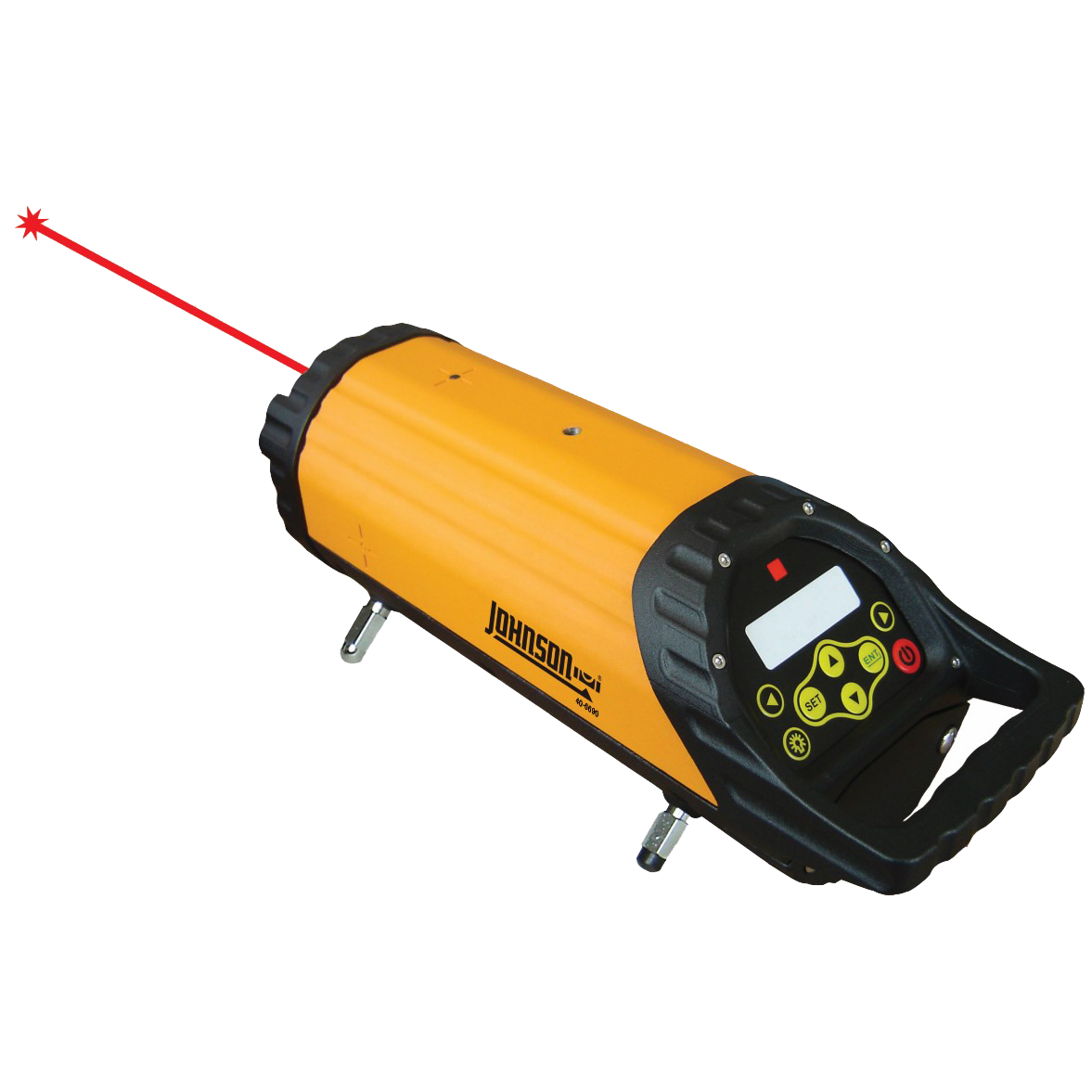 Self Leveling Tools : Electronic self leveling pipe laser johnson